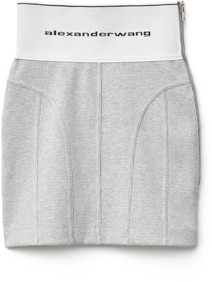 Collection Logo Elastic Skirt