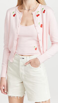 Thumbnail for your product : HVN Laura Embroidered Cardigan & Tank Set