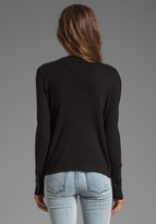 Milly June Knits Kylie Open Chain Cardigan