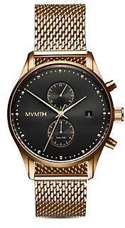 MVMT Voyager Black & Gold Watch, 42mm