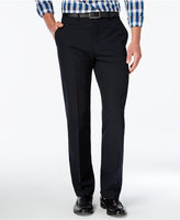 Alfani Men's Slim-Fit Windowpane Check Flat-Front Pants, Only at Macy's