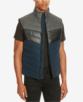 Kenneth Cole Reaction Men's Colorblocked Puffer Vest