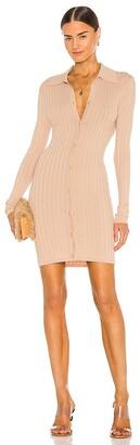 Ronny Kobo Cathy Knit Cardigan Dress