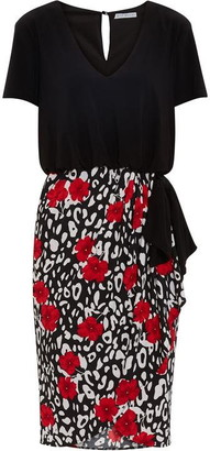 Gina Bacconi Nelia Wrap Skirt Bodice Dress