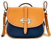 Dooney & Bourke Verona Bionda Cristina Leather Saddle Bag