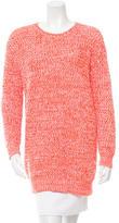 Stella McCartney Open Knit Crew Neck Sweater