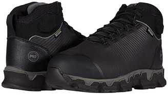 Timberland Powertrain Sport Alloy Safety Toe Internal Met Guard (Black) Men's Shoes