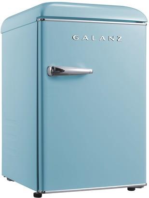 Galanz 2.5 Cu. Ft. Retro Mini Single-Door Fridge