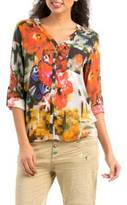 Desigual Camila Pixelated-Butterfly Top
