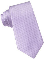 DKNY Silk Dotted Stripe Tie