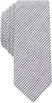 Original Penguin Men's Bergn Seersucker Stripe Skinny Tie