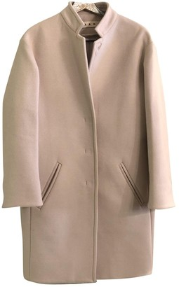 Marni Pink Wool Coat for Women