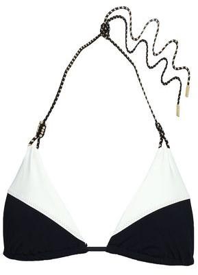 Vix Paula Hermanny Two-tone Triangle Bikini Top