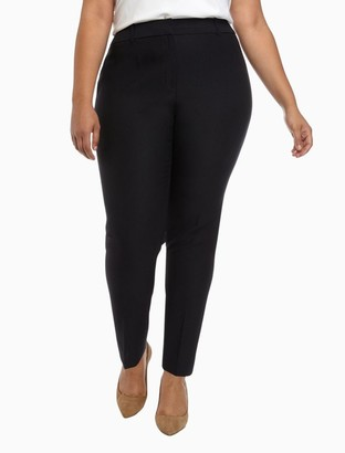Calvin Klein Plus Size Slim Fit Twill Pants