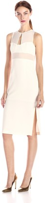 BCBGeneration Women's Sleeveless Pencil-Skirt Dress