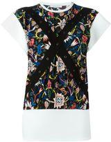 J.W.Anderson floral print blouse - women - Polyethylene/Acetate - 6