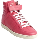 Saint Laurent Pink Leather Trainers