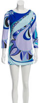 Emilio Pucci Long Sleeve Abstract Print Top