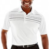 PGA TOUR® Rope Argyle Polo Shirt-Big & Tall