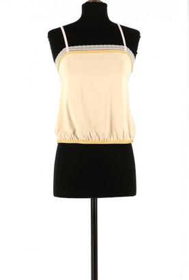 Calvin Klein Beige Wool Top for Women