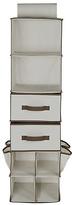 HOME 6 Shelf 2 Drawer Organiser - Cream