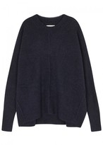 Etoile Isabel Marant Chester Navy Knitted Jumper