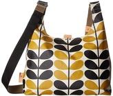 Orla Kiely Stem Check Print Midi Sling Bag Sling Handbags