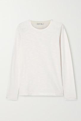 Alex Mill Slub Cotton-jersey Top