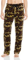 Vintage by Majestic International Men's Camo Plush Fleece Lounge Pant