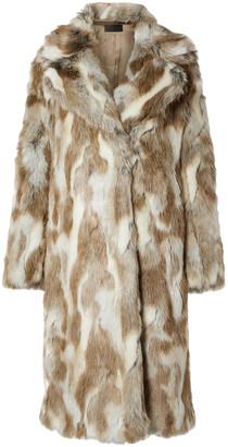 Nili Lotan Simon Faux Fur Coat