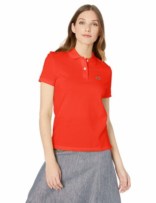 Lacoste Women's Classic FIT Short Sleeve Polo