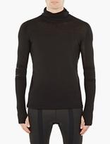 Y-3 Sport Black Knitted Hoodie