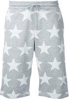 GUILD PRIME stars print track shorts - men - Cotton - 2