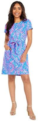 Lilly Pulitzer Glenn Dress (Pundy Blue La Zebra) Women's Dress