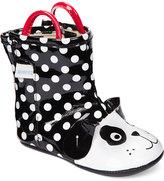 Robeez Mini Shoez Baby Girls' Pepper Rain Boots