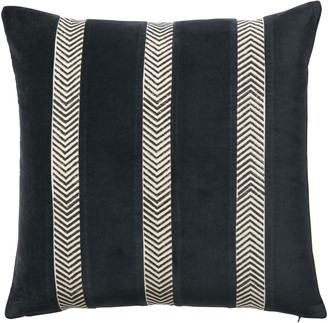 OKA Vataro Cushion Cover Lime/Ink Blue