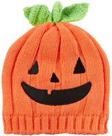 Carter's Knit Pumpkin Hat