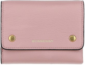 Burberry Small Leather Bi-Fold Wallet