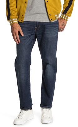 """Lucky Brand Gregory Straight Fit Jeans - 30-34"""" Inseam"""