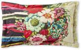 Desigual Lovely Garden Mixed Print Pillowcase