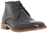 Bertie Condor Contrast Stitch Leather Chukka Boots