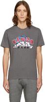 Kenzo Grey Popcorn Logo T-Shirt
