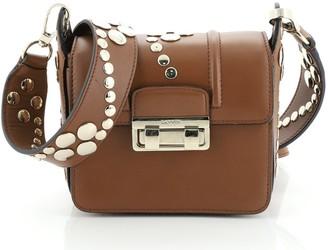 Lanvin Jiji Shoulder Bag Embellished Leather Mini