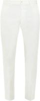 Bottega Veneta Slim-leg cotton-blend trousers