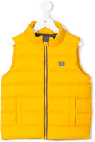 Armani Junior padded gilet - kids - Feather Down/Polyamide/Polyester - 4 yrs