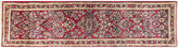 """One Kings Lane Vintage Sarouk Runner - 2'7"""" x 10'6"""" - Eli Peer Oriental Rugs - blue/red/multi"""
