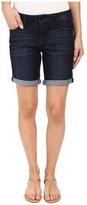 Liverpool Corine Rolled Denim Shorts in Vintage Super Dark Women's Shorts
