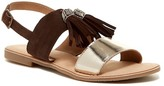 Callisto Anandi Tassel Flat Sandal