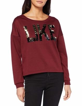 Vero Moda Women's Vmdidde Ls Campus Sweat SWT Sweatshirt