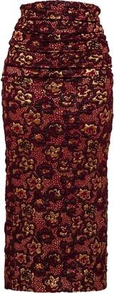 Miu Miu Cloque skirt